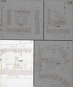 Insurance Plan of London North West District Vol. C: sheet 19-4